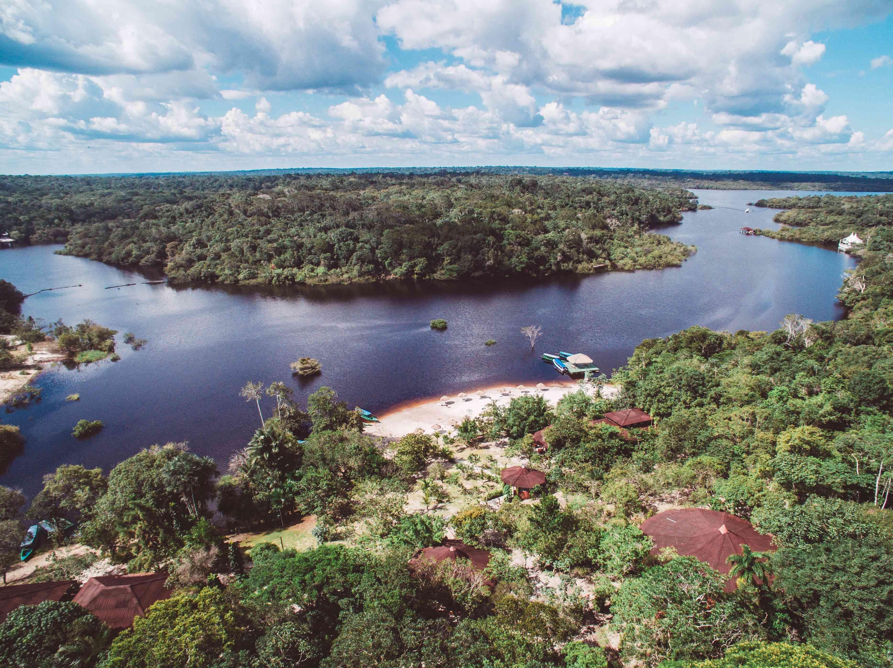 Eco Park Lodge - vista aerea