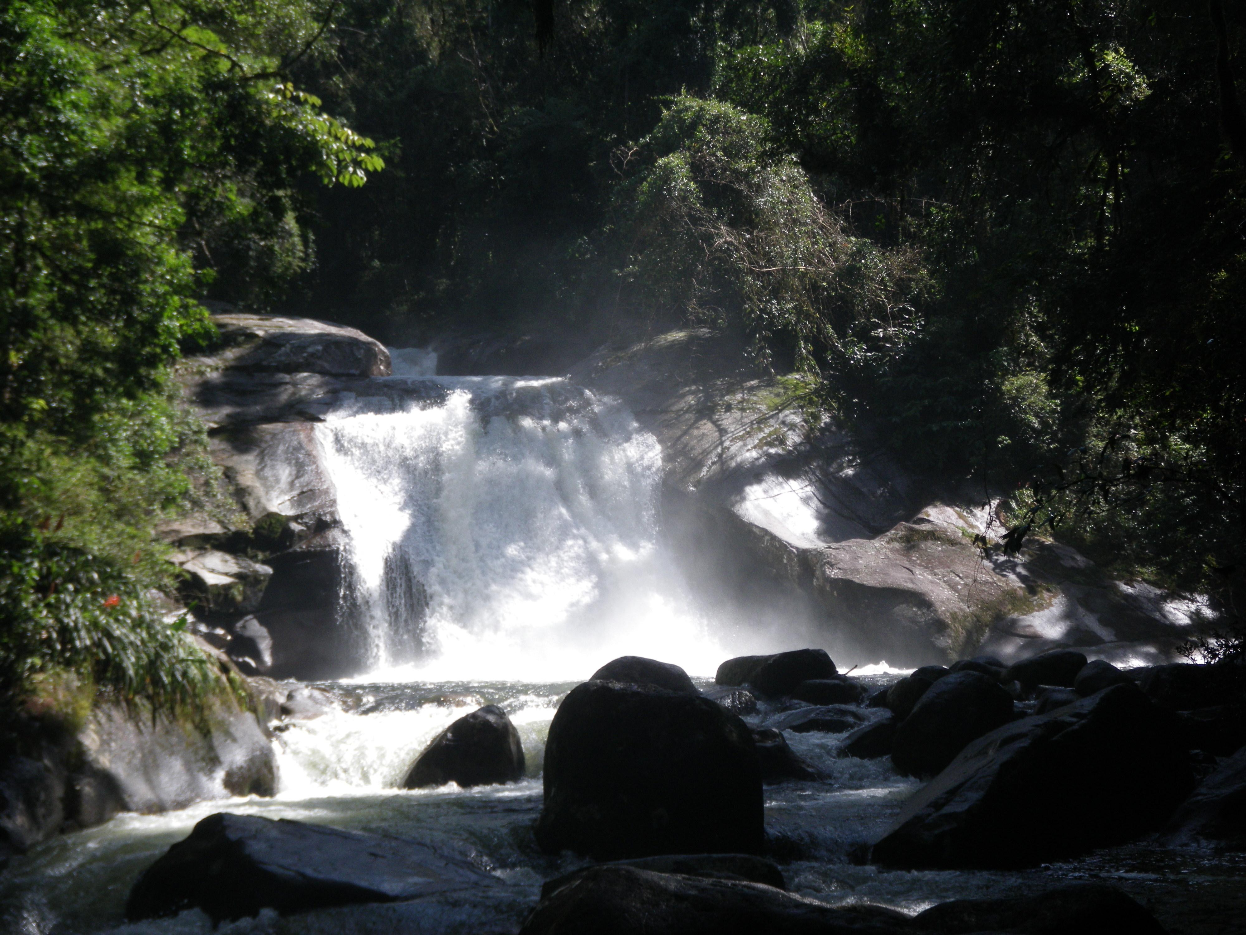 Mata Atlantica Wasserfall