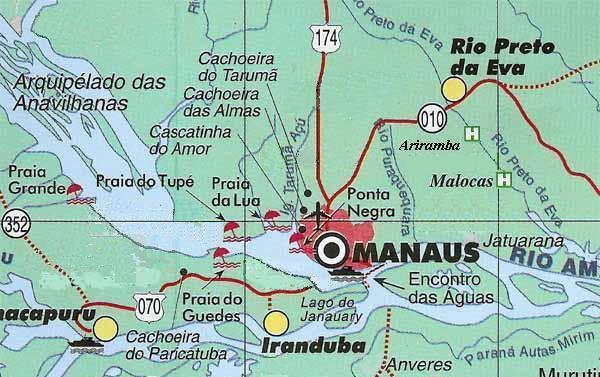 Malorca Jungle Lodge Karte
