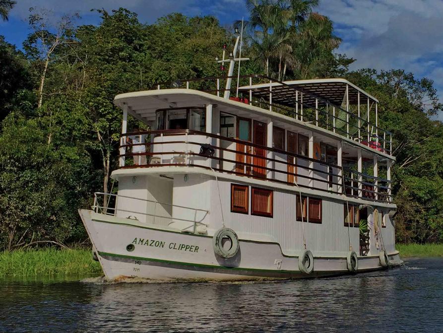 Amazonas Kreuzfahrt Tradicional