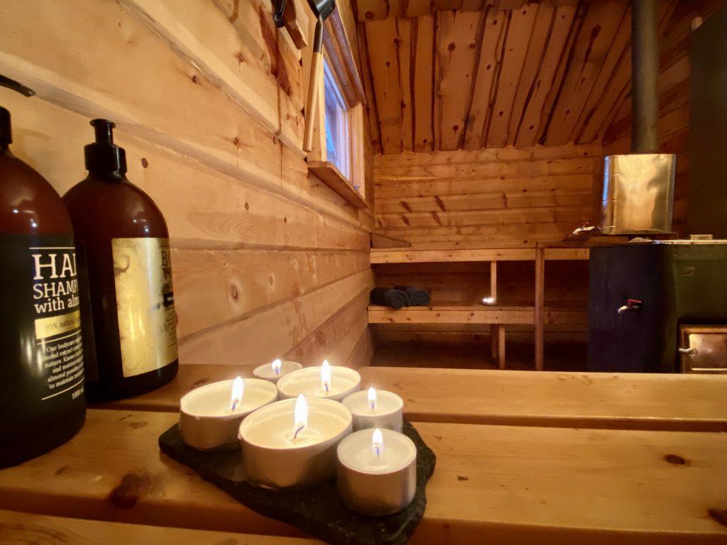 Husky Tour Sauna